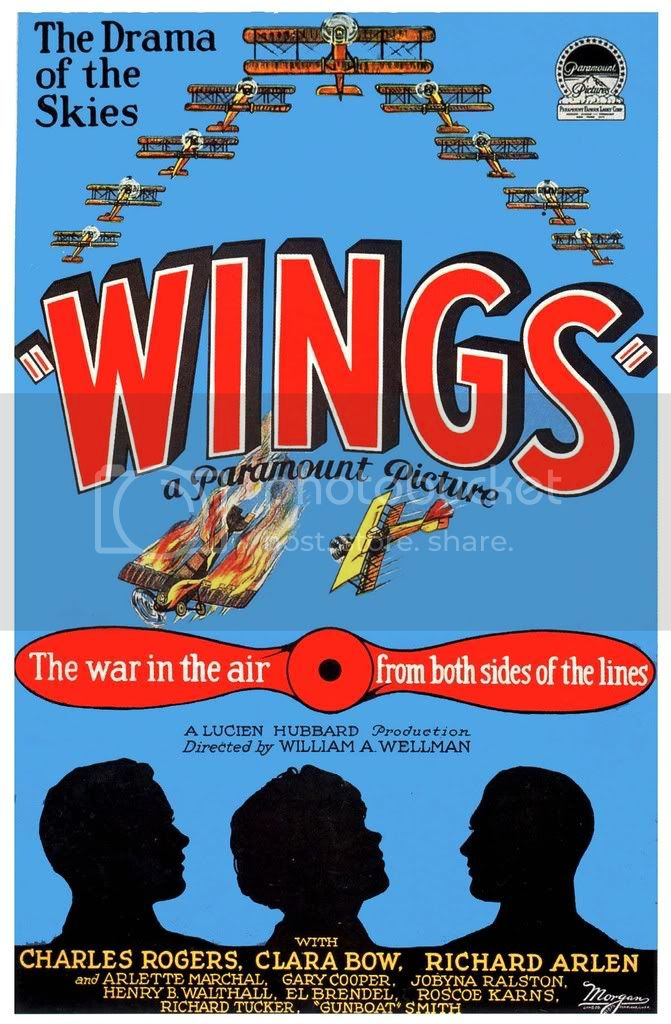 Wings Poster, Epic Of The Air ('27)